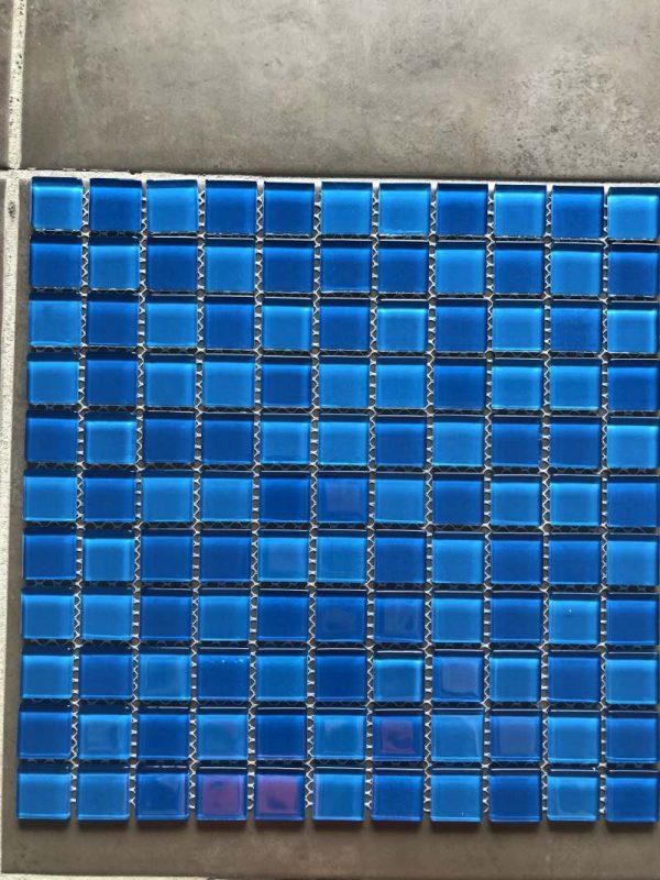 Pool Tiles Glass - Mix Aqua Blue ABS3233-1