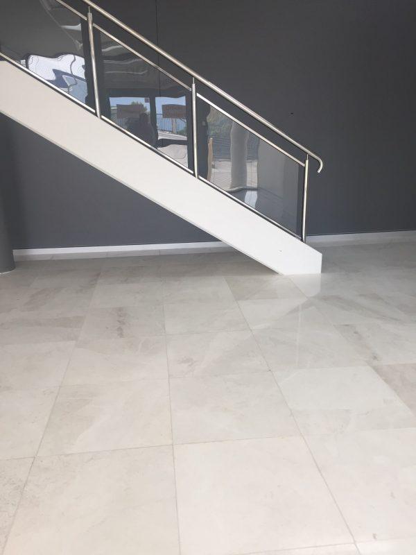 Bianca Perla Honed Marble