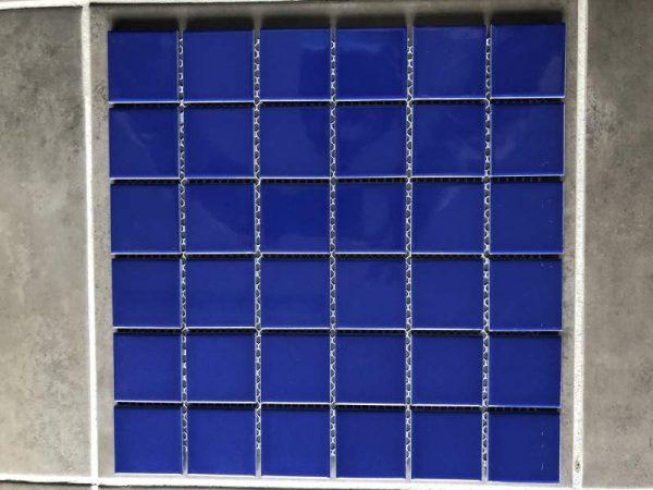 Pool Tiles Porcelain - Dark blue