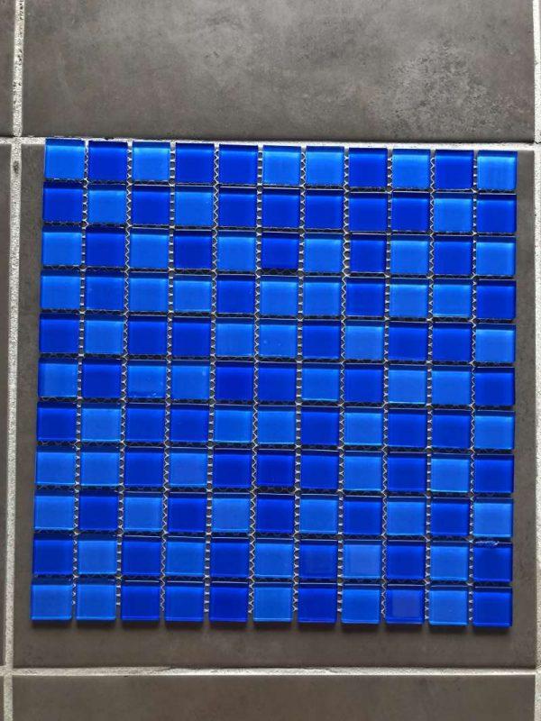 Pool Tiles Glass - Mix Blue MBS2122-1