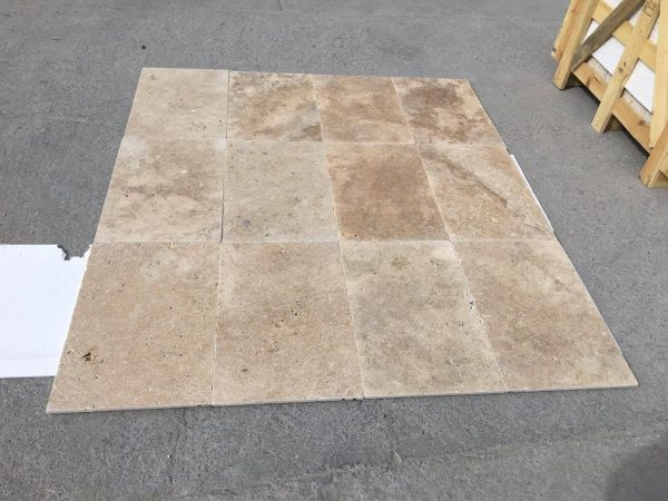 Noche Travertine Unfilled And Tumbled