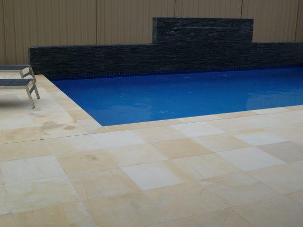 Sahara Gold Honed - Sandstone Pool Coping