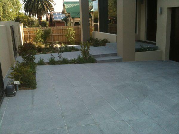 Exotic Grey Granite Paving