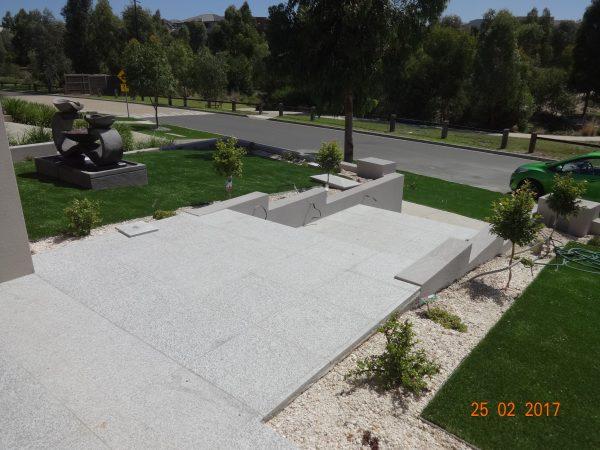 Peppermint Granite Paving