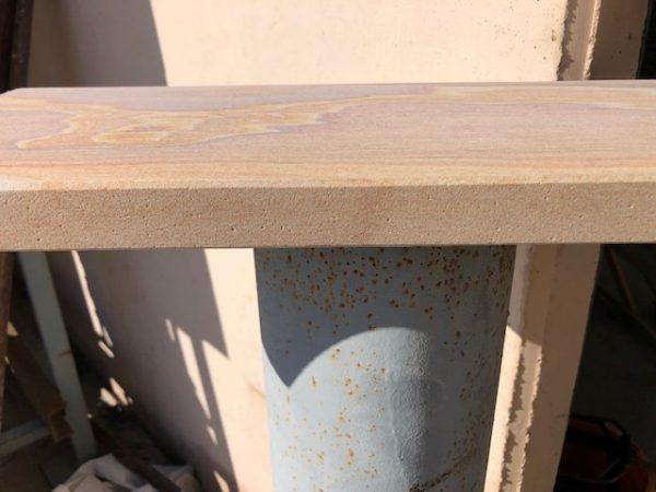 Rainbow Honed - Sandstone Pool Coping