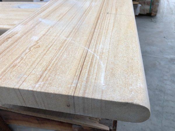 Teakwood Honed - Sandstone Pool Coping